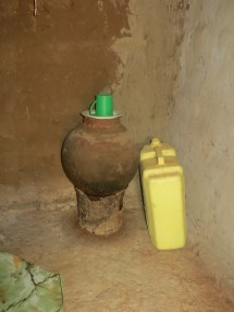 Drinking water pot