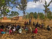Bukongolo community attending WASH