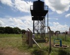 Newly rehabilitated solar borehole pump in Omoro, Alebtong District