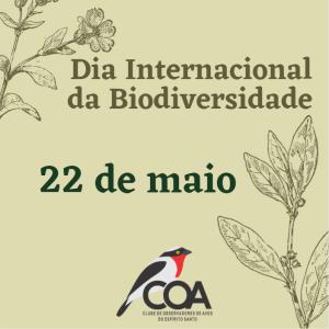 22 de Maio – Dia Internacional da Biodiversidade