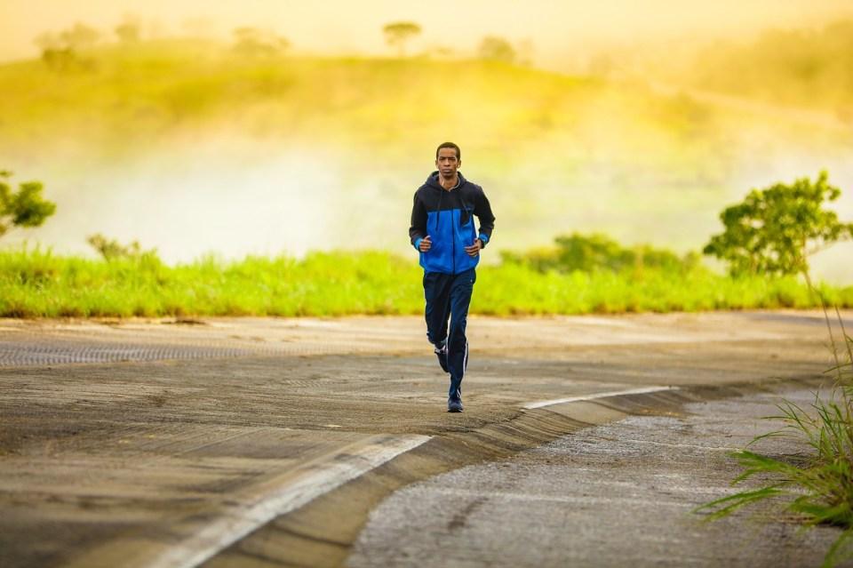 Bewegung als Energie Booster - Laufen an der frischen Luft