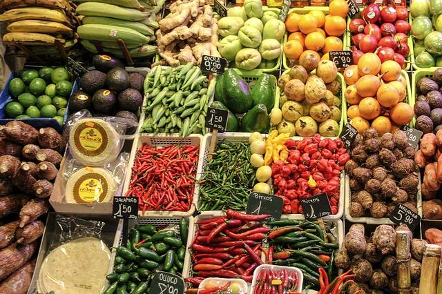 Den Großteil meiner Lebensmittel kaufe ich auf dem Wochenmarkt - frisch und regional