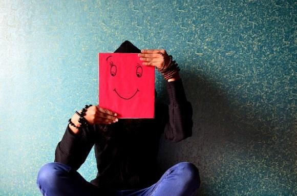 Maske Glück - zeigst du dein wahres Ich oder eine Maske die du denkst zeigen zu müssen
