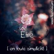 Etre vivant et spirituellement vrai en toute simplicité