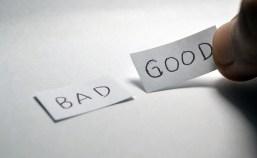 Bien ou mal, positif ou négatif ?