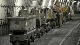 Produktivität durch Grubenbahn