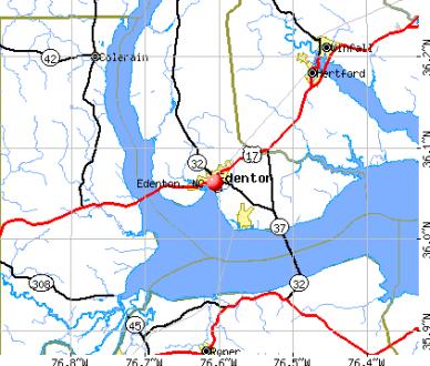 edenton map