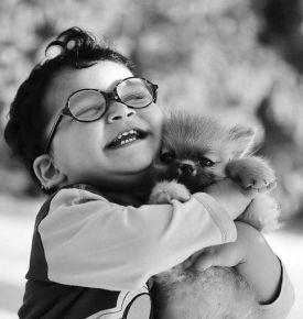 puppy-hug