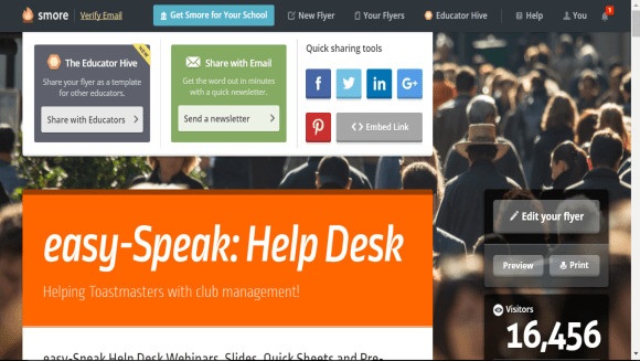 easy-speak help desk