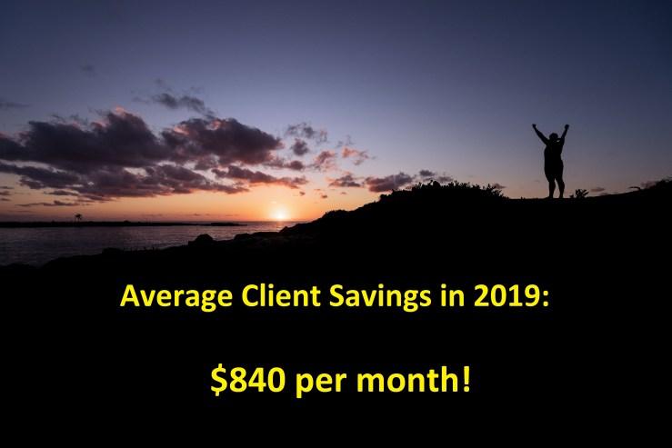 financial coach client savings