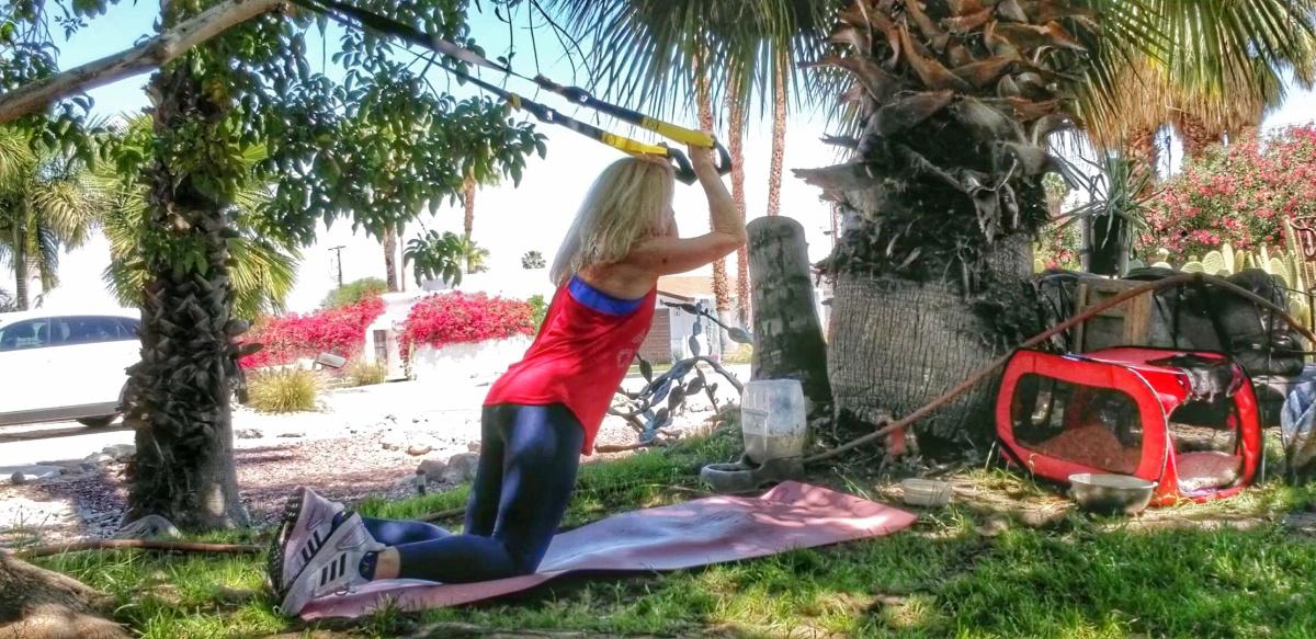 Kneeling Triceps Extension