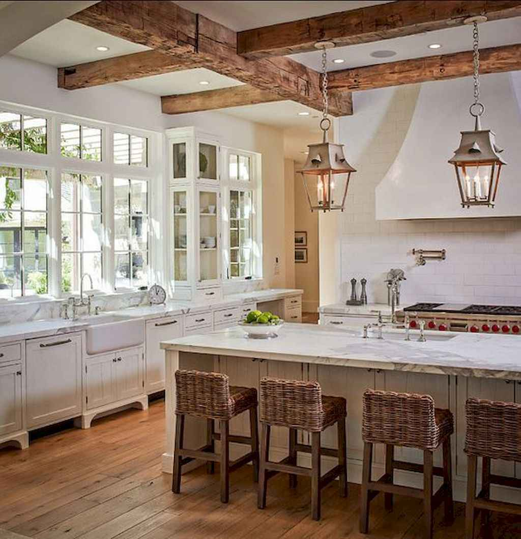 100 Stunning Farmhouse Kitchen Ideas on A Budget (29)