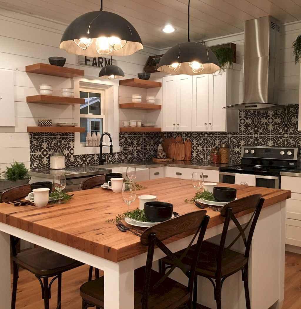 100 Stunning Farmhouse Kitchen Ideas On A Budget (43