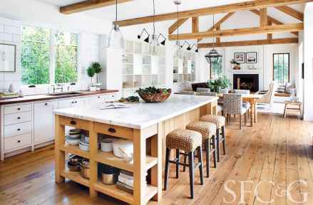 100 Stunning Farmhouse Kitchen Ideas on A Budget (79)
