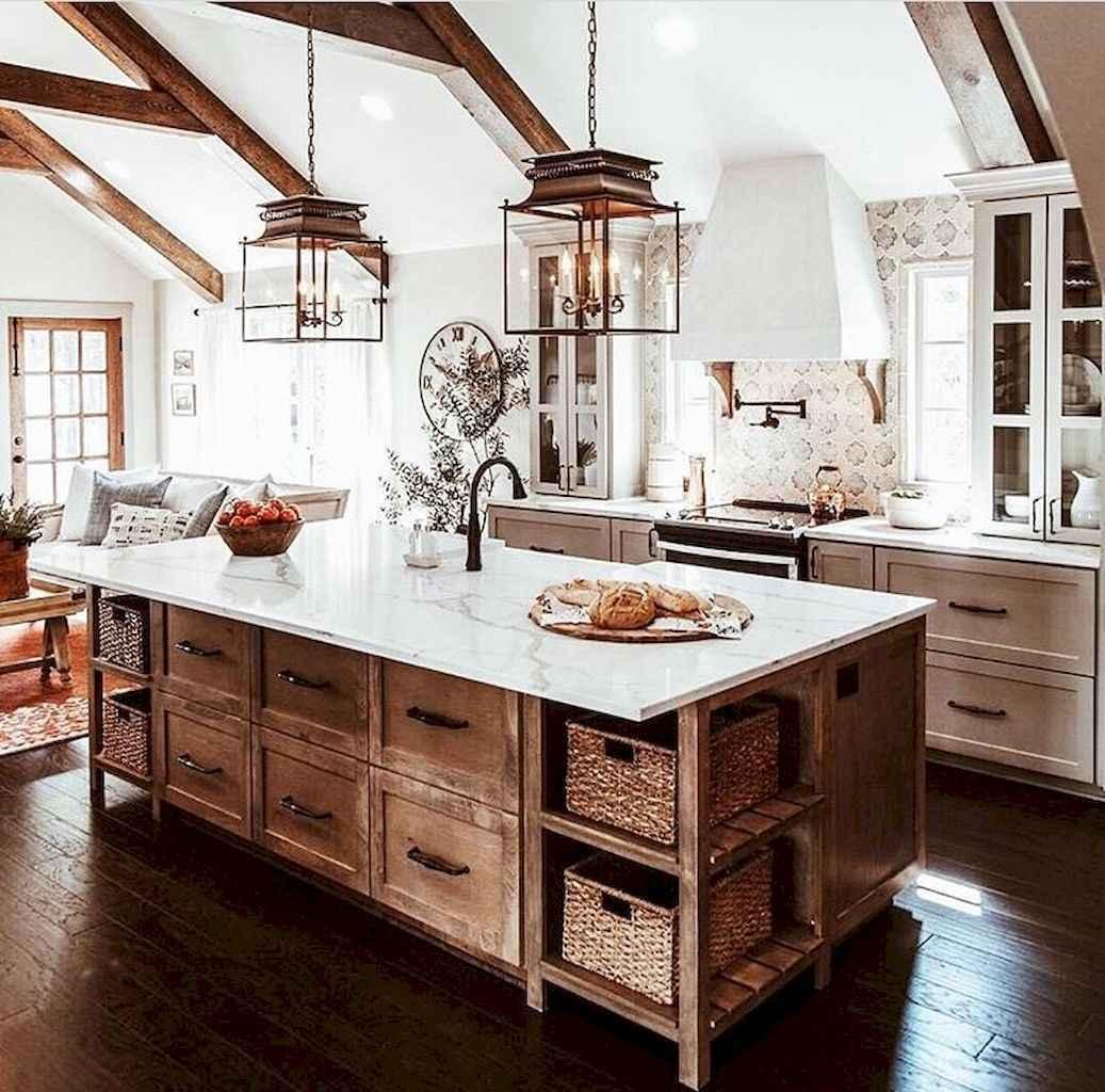 100 Stunning Farmhouse Kitchen Ideas on A Budget (9)