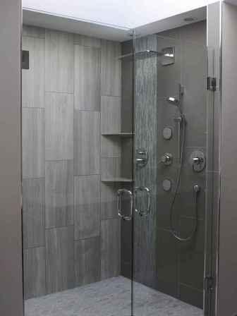 120 Stunning Bathroom Tile Shower Ideas (38)