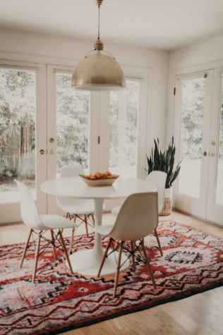 130 Small and Clean First Apartment Dining Room Ideas (106)