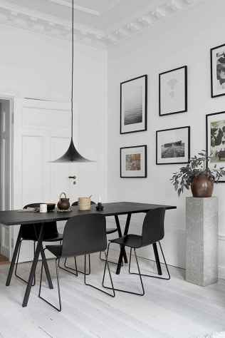 130 Small and Clean First Apartment Dining Room Ideas (107)