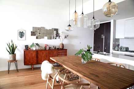 130 Small and Clean First Apartment Dining Room Ideas (11)