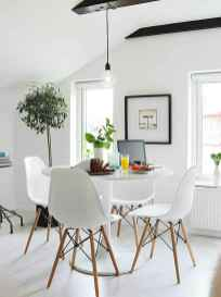 130 Small and Clean First Apartment Dining Room Ideas (19)