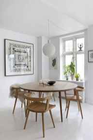 130 Small and Clean First Apartment Dining Room Ideas (42)