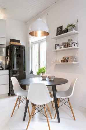 130 Small and Clean First Apartment Dining Room Ideas (6)