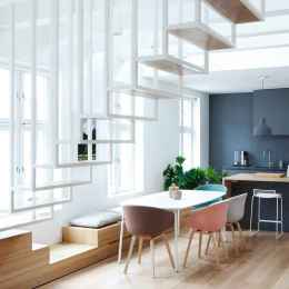 130 Small and Clean First Apartment Dining Room Ideas (74)