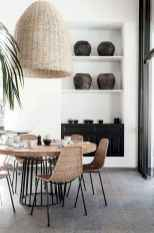 130 Small and Clean First Apartment Dining Room Ideas (76)