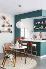 130 Small and Clean First Apartment Dining Room Ideas (90)