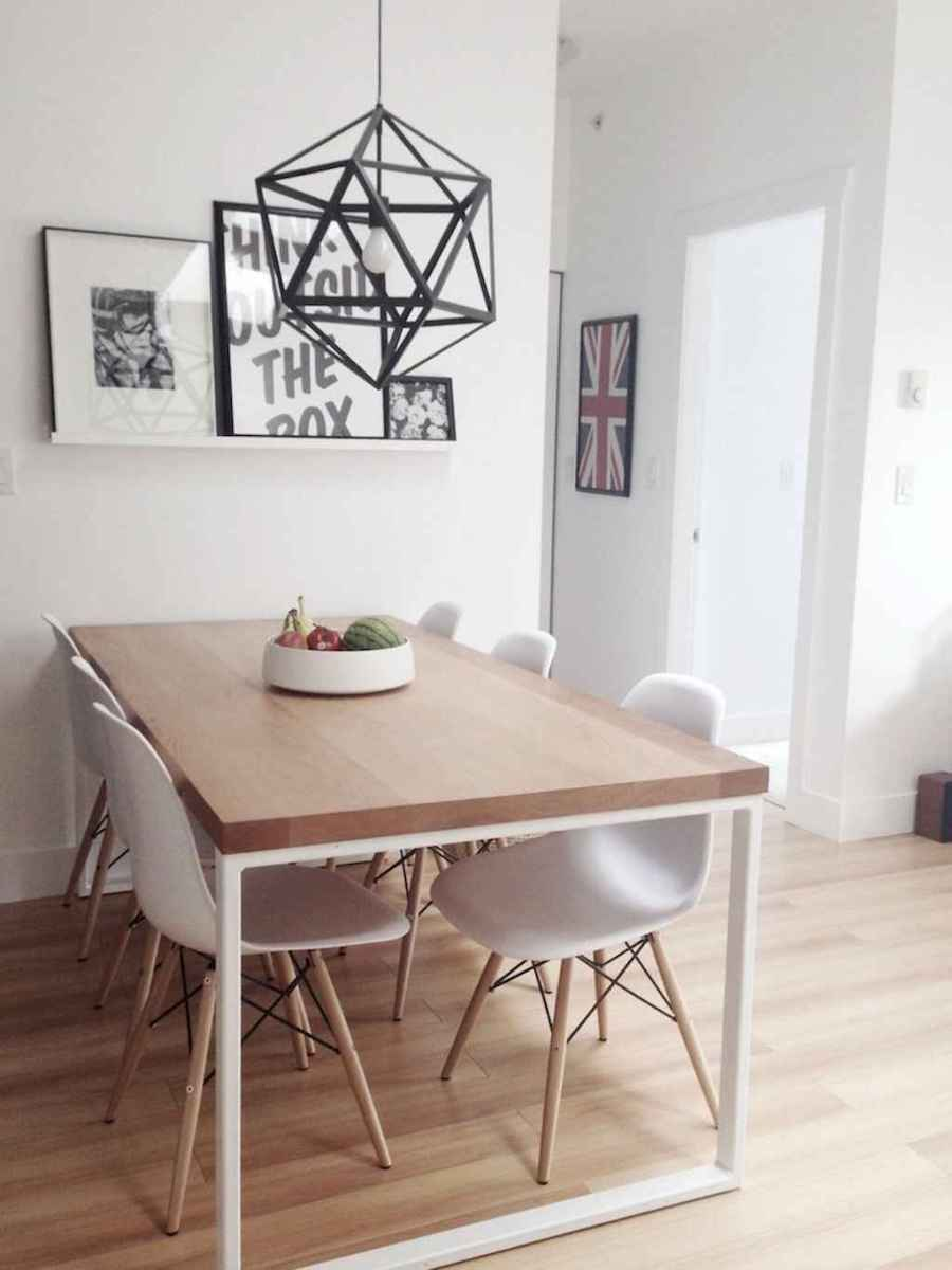 130 Small and Clean First Apartment Dining Room Ideas (98 ...