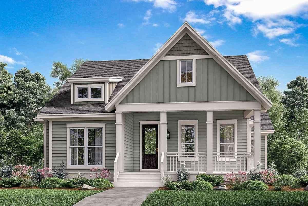 130 Stunning Farmhouse Exterior Design Ideas (12)