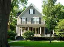 130 Stunning Farmhouse Exterior Design Ideas (120)
