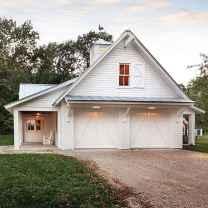 130 Stunning Farmhouse Exterior Design Ideas (124)
