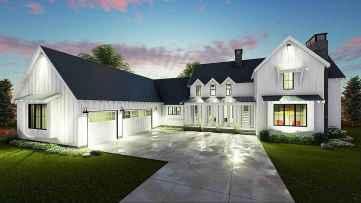 130 Stunning Farmhouse Exterior Design Ideas (20)