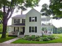 130 Stunning Farmhouse Exterior Design Ideas (25)