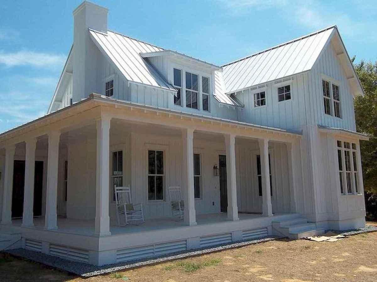 130 Stunning Farmhouse Exterior Design Ideas (27)