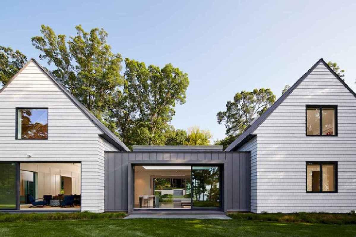 130 Stunning Farmhouse Exterior Design Ideas (42)