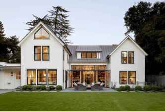 130 Stunning Farmhouse Exterior Design Ideas (44)