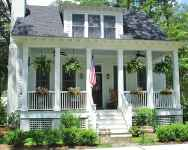 130 Stunning Farmhouse Exterior Design Ideas (5)