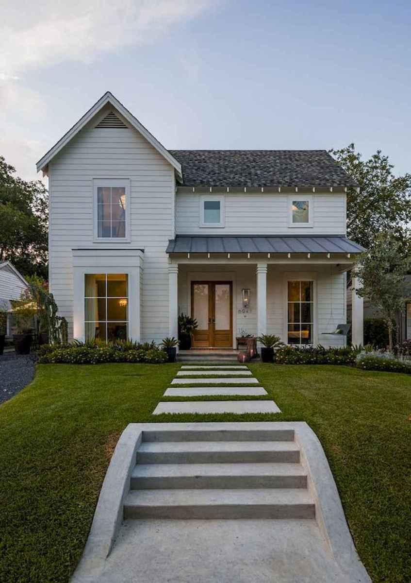 130 Stunning Farmhouse Exterior Design Ideas (52)