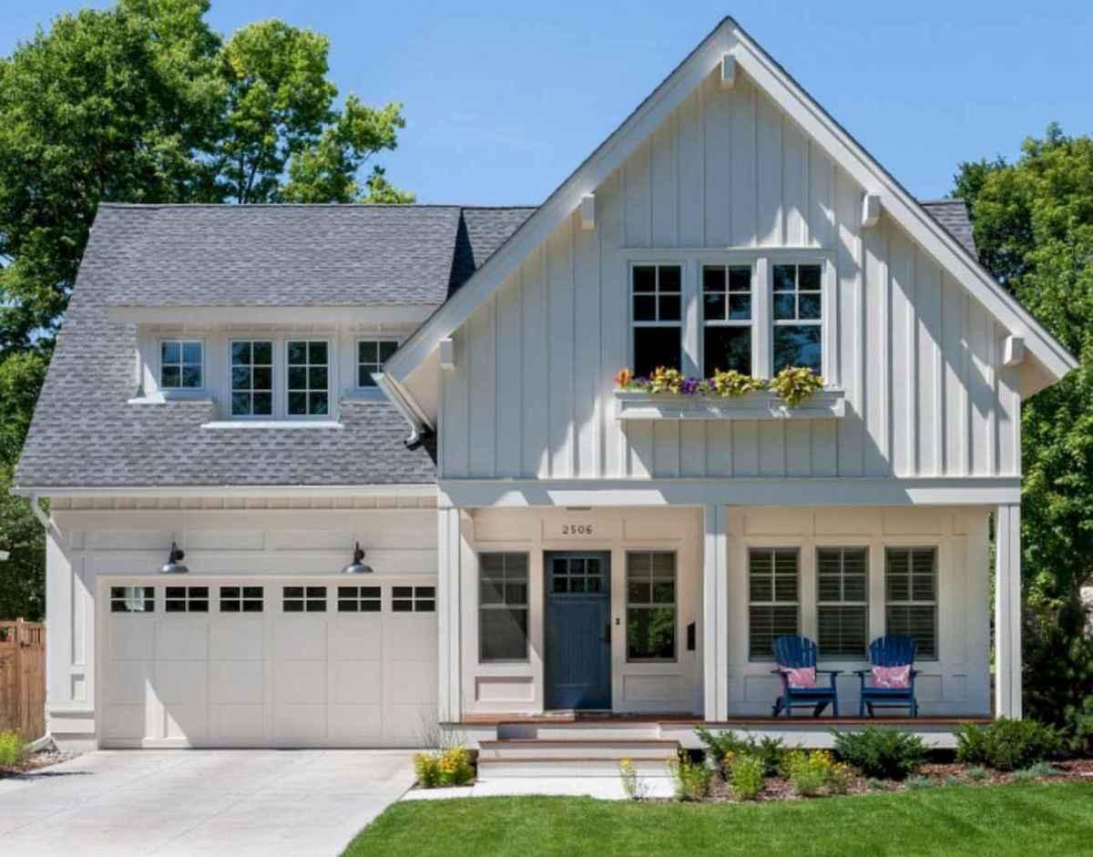 130 Stunning Farmhouse Exterior Design Ideas (56)