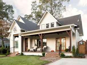 130 Stunning Farmhouse Exterior Design Ideas (59)