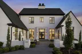 130 Stunning Farmhouse Exterior Design Ideas (60)