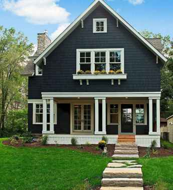 130 Stunning Farmhouse Exterior Design Ideas (62)
