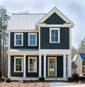130 Stunning Farmhouse Exterior Design Ideas (64)