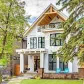 130 Stunning Farmhouse Exterior Design Ideas (65)