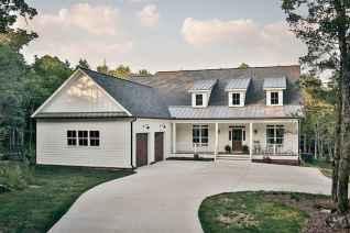 130 Stunning Farmhouse Exterior Design Ideas (7)