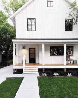 130 Stunning Farmhouse Exterior Design Ideas (90)
