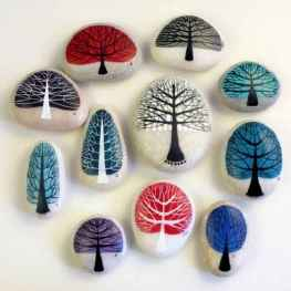50 DIY Painted Rock Ideas for Your Home Decoration (11)