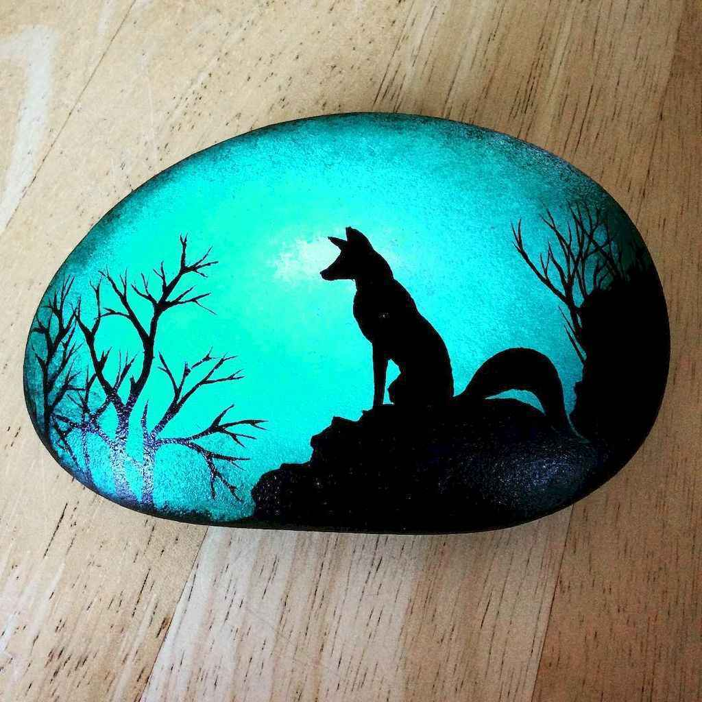 50 DIY Painted Rock Ideas for Your Home Decoration (23)